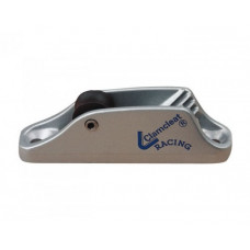 Clamcleat Strozzascotte in alluminio con passacavo Mk1 6mm Junior Ali Silver
