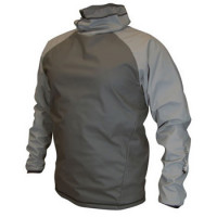 Rooster Spray Top Aqua Fleece