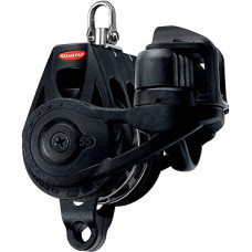 Series 55 RT Orbit Block, Triple Becket Cleat, Swivel Head